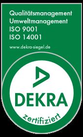 Dekra ISO 9001 ISO 14001
